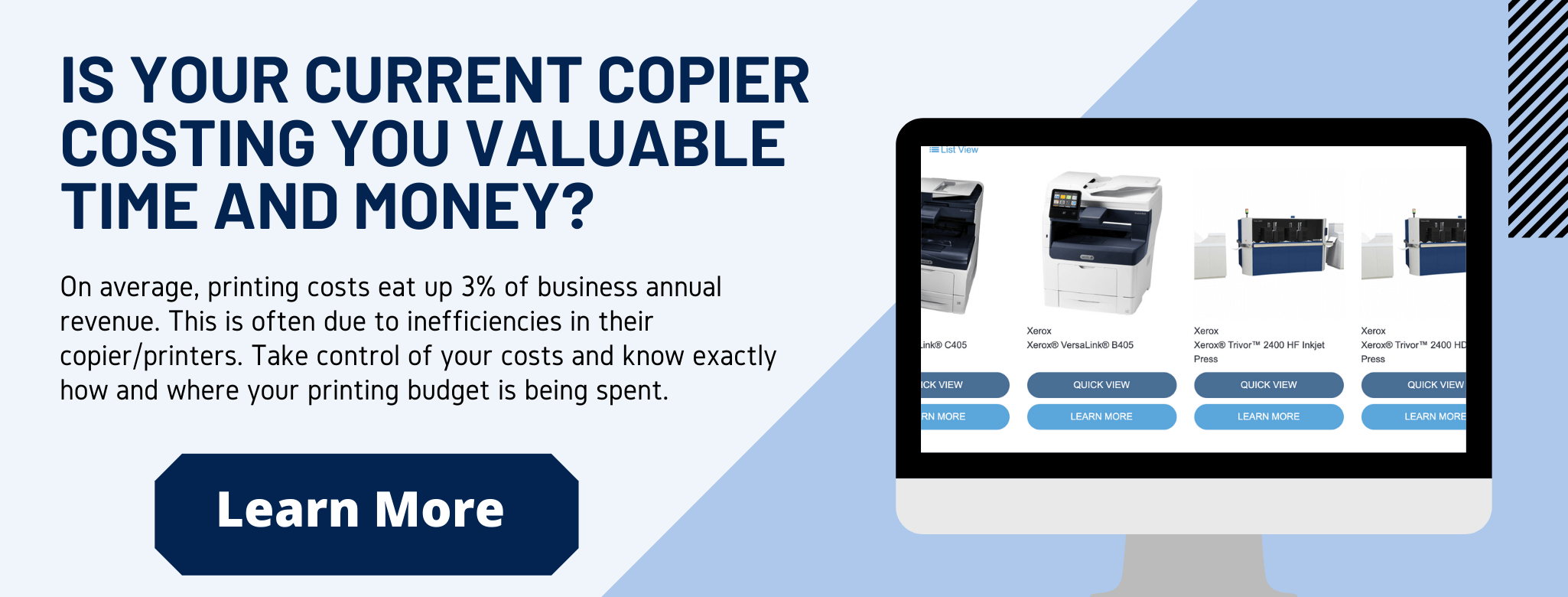 How much is your copier/printer costing your business?